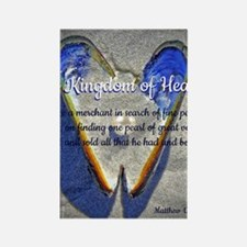 The kingdom of Heaven Rectangle Magnet