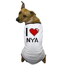 Cool Nya Dog T-Shirt