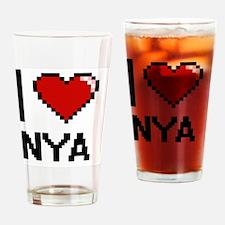 Cool Nya Drinking Glass