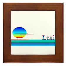 Lexi Framed Tile