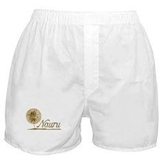 Palm Tree Nauru Boxer Shorts