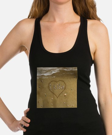 Leila Beach Love Racerback Tank Top