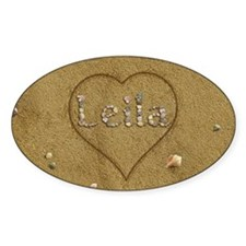 Leila Beach Love Decal