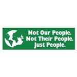 Just People Bumper Sticker