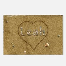 Leah Beach Love Postcards (Package of 8)