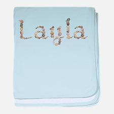 Layla Seashells baby blanket