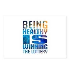 BeingHealthy Postcards (Package of 8)