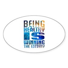 BeingHealthy Decal