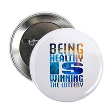 """BeingHealthy 2.25"""" Button (100 pack)"""
