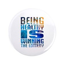 """BeingHealthy 3.5"""" Button (100 pack)"""