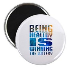 """BeingHealthy 2.25"""" Magnet (10 pack)"""