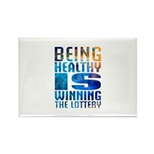 BeingHealthy Rectangle Magnet