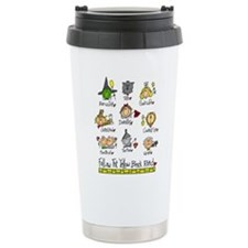 Unique You good witch bad witch Travel Mug