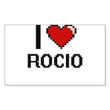 I Love Rocio Decal