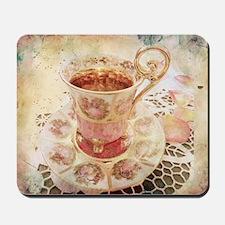 Victorian Cup of tea Mousepad