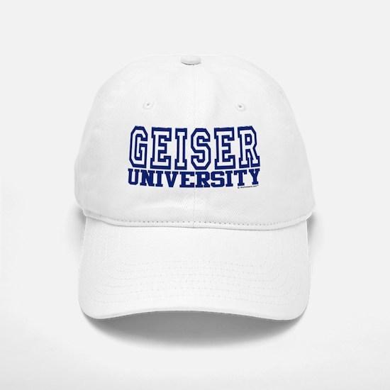 GEISER University Baseball Baseball Cap