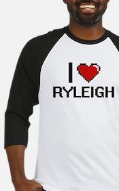 I Love Ryleigh Baseball Jersey