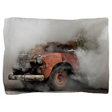 Cute Cloud motorcycle Pillow Sham