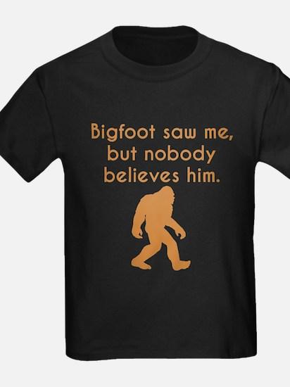 Bigfoot Saw Me T-Shirt