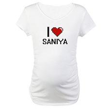 I Love Saniya Shirt