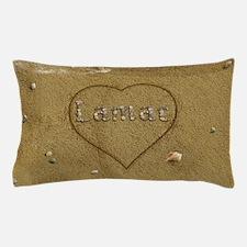 Lamar Beach Love Pillow Case