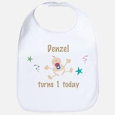 Denzel turns 1 today Bib