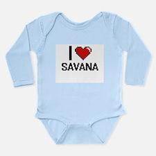 I Love Savana Body Suit