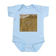 Laila Beach Love Infant Bodysuit