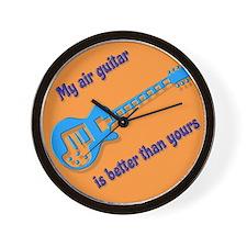 Air Guitar Wall Clock