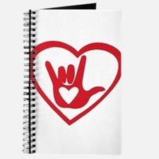 I love you with all my heart Journal