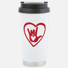 I love you with all my heart Travel Mug