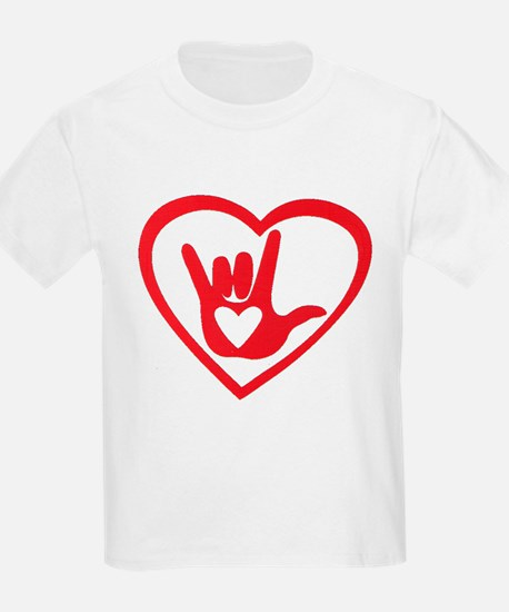 I love you with all my heart T-Shirt