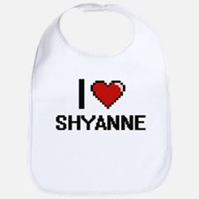 I Love Shyanne Bib