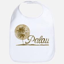 Palm Tree Palau Bib