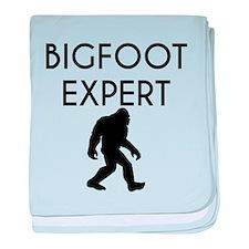 Bigfoot Expert baby blanket