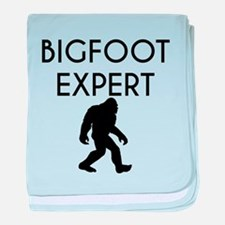 Bigfoot Expert baby blanket