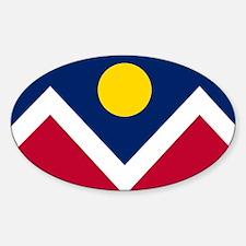 Flag of Denver Colorado Decal