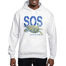 SOS Save Our Sea Turtles Hoodie