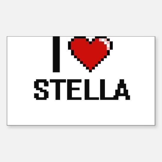 I Love Stella Decal
