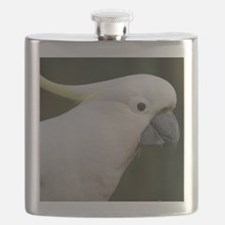 Cute White Cockatoo Flask