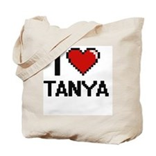 I Love Tanya Tote Bag