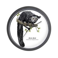 Aye-Aye Wall Clock