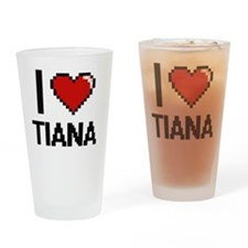 Unique Tiana Drinking Glass