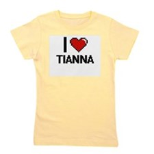 I Love Tianna Girl's Tee