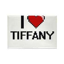 I Love Tiffany Magnets
