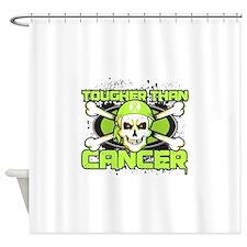 Lymphoma Cancer Tougher Shower Curtain