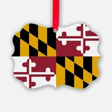 State Flag of Maryland Ornament