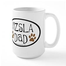 Vizsla Dad Oval Mug