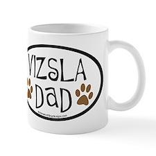 Vizsla Dad Oval Small Mug