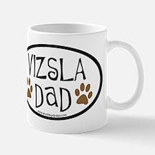 Vizsla Dad Oval Small Small Mug
